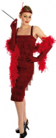 Roaring 20's Flapper Costume Red